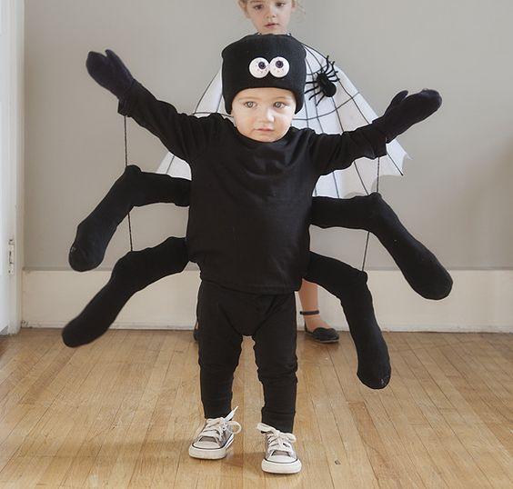 stroje na Halloween dla dzieci