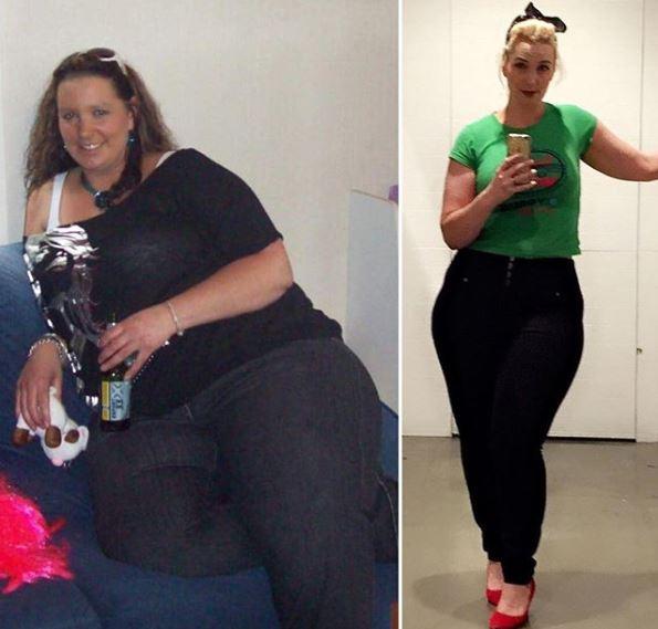 Gemmel schudła 70 kilogramów